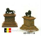 Vivid Belgian lion hill resin world famous building minature