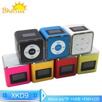 Gift Speaker Audio Mini Speaker Fm Radio Boombox Portable Subwoofer Amplifier for Home