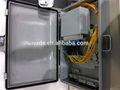 ftth 12 núcleos de fibra óptica caixa de rescisão