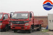 oumark 156hp 4X2 5ton foton light diesel truck