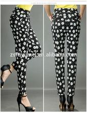 sexy office uniform designs for women pants and blouse,elastic ankle women pants,custom jogger pants,