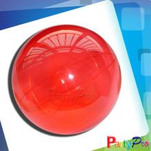 2014 Hot Sale Novel Games Bouncing Balls Children Hollow Rubber Transparent Ball
