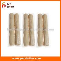 Retrieved Rolls white rolls white bones Beef Flavors for dog chews