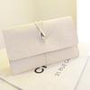 white clutch bag pu hand make bag popular in Europe 2014 new design