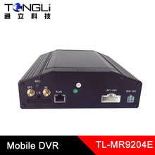3G GPS Mobile DVR 4 channels recording SD card and HDD both supported