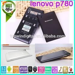Original Lenovo P780 MTK6589 Quad Core Mobile Phone +Dual SIM Cards Dual Stand