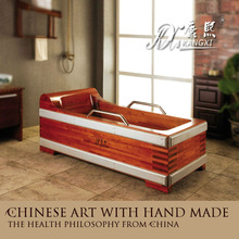 Quality wooden square shower big bathtub walk in bathtub