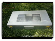 Easy rodent trap cage with a clear lid