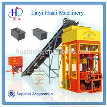 Small Construction Equipment QHL4-25 Used Concrete Block Making Machine