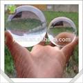 Grande acrílico transparente bola de plástico, acrílico colorido bola