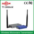 Fm 1.2 ghz vídeo analógico receptor transmissor sem fio kits