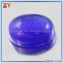 Oval Cabochon Glass Stone Milky Glass Gemstone