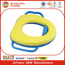 Manufactory produce baby toilet seat cover with handle