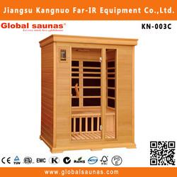 Far infrared cedar hot tub wooden adult sauna massage rooms KN-003C