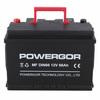 wholesale mf auto battery din66 12v 66ah ac delco battery
