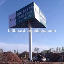 Publicité extérieure structure panneaux d'affichage conception
