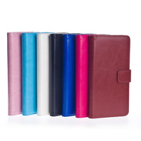 Luxury PU Stand Wallet Leather Flip Cover Case for Samsung Note 4