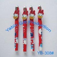 Promo GuangDong Cartoon Character Plastic Ballpoint Pen
