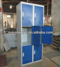 godrej lockers storage cabinet,6 departments cupboard school furniture