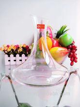 Restaurant/hotel glassware unique crystal red wine glass decanter 1650ml/56.8oz(glass factory,passed FDA EU,SGS)