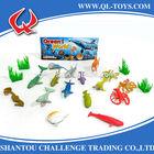 pvc vinyl animal toys*2 inch Ocean animals vinyl*3D small plastic toy * Hot selling