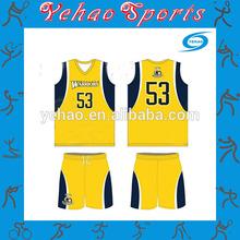 sample basketball uniform design