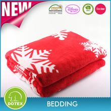 BSCI & SEDEX & OEKO Certificated Blanket Factory China Home textile 100% polyester microfiber comfortable fleece blankets