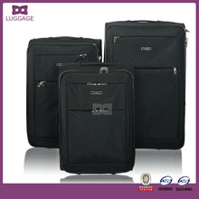 Jiaxing Assorted Sizes Black Soft Luggage, Bags & Cases