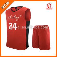 create basketball jersey international 100% cotton fabric jersey