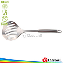 The new born creative kitchenware stainless steel fancy slotted turner
