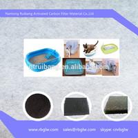 Manufacturing Cat Litter Box Air Filter Replacement Pureness Zeolite