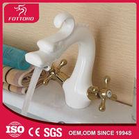 MK24101 White plating antique dragon head faucet