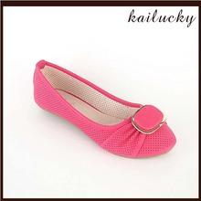 2014 new design wholesal shoes flat casual lady guangzhou shoes