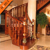 wood handrail exterior stair railing zy-c75