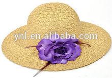 Women Folding Wide Brim Summer Beach Hats