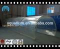 Personalizado del acuario de acrílico del túnel a la venta para el acuario de acrílico el proyecto del túnel/oceanario de acrílico