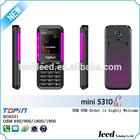 mini 5310 10colors mini phone