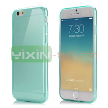 Simple Style Soft TPU Phone case for iPhone 6, for iPhone 6 tpu case colorful