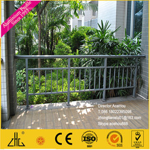 WOW!!!Anodized aluminium stair railing profile aluminium fence /commercial fencing solid bar /Aluminium Fence for Protection