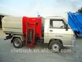2- 3m3 mini caminhãodelixo capacidade, foton lixo empilhadores recipiente