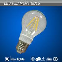 Retrofit led bulb 1W-8W E14 B22 B15 E12 E26 E27dimmable edison led filament bulb/led candle bulb light CE ROHS TUV alibaba