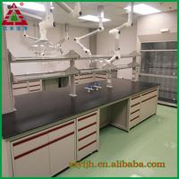 Lab /laboratory furniture/C-Frame laboratory wood workbench/ lab facility/equipment