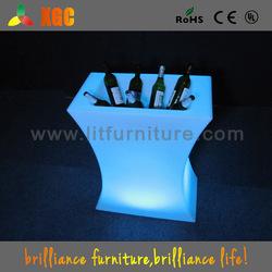 PE material 16 colors remote control plastic wine cooler