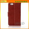 "new coming cell phone leather case for iphone 6 wallet leather case 4.7"" for iphone 6"