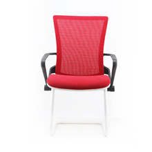 2014 Modern Flexible Stacking Red Mesh Armrests For Office Chair