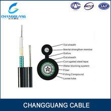 Fiber Optic Cable 2 4 12 24 48 96 288 Core Optic Fiber Cable GYXTC8S Fiber Optic Cable Making Equipment