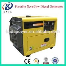 Open/silent type air cooled diesel portable generators
