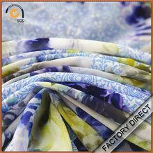 Factory direct hot sale digital print elastic poly velvet