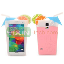 Made in China custom design 3D carven PC Silicone cell phone case for samsung galaxy s5