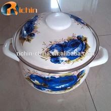 High quality casserole steel enamel pot